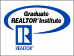 A realtor with GRI (Graduate Realtor Institute) has been trained over and above what is required of an average licensee and has taken examinations to earn this designation.