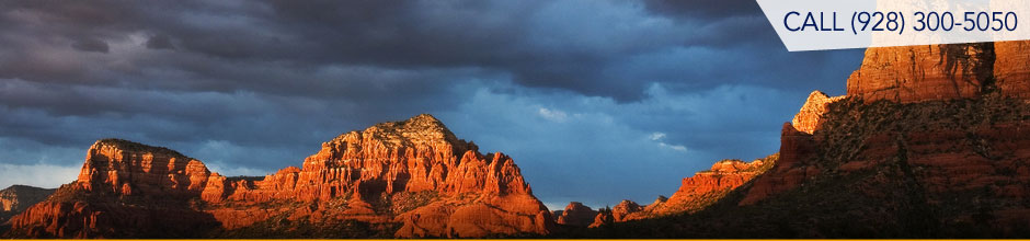 Sedona and Verde Valley real estate - search by map